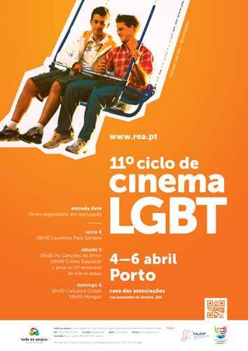 Cartaz do 11º Ciclo de Cinema no Porto